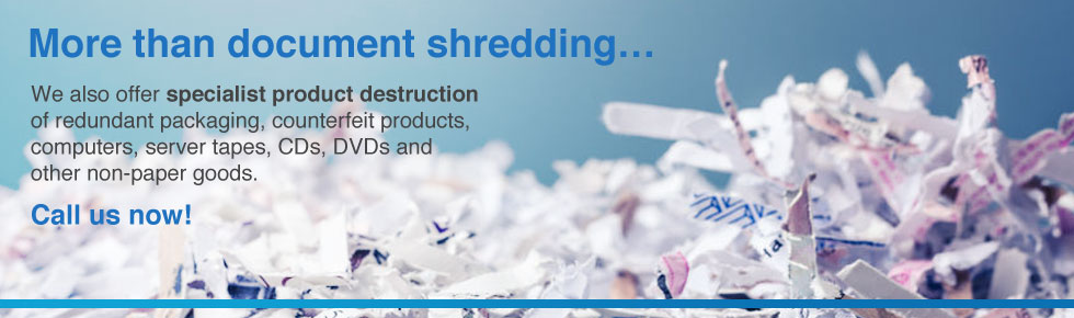 More than document shredding